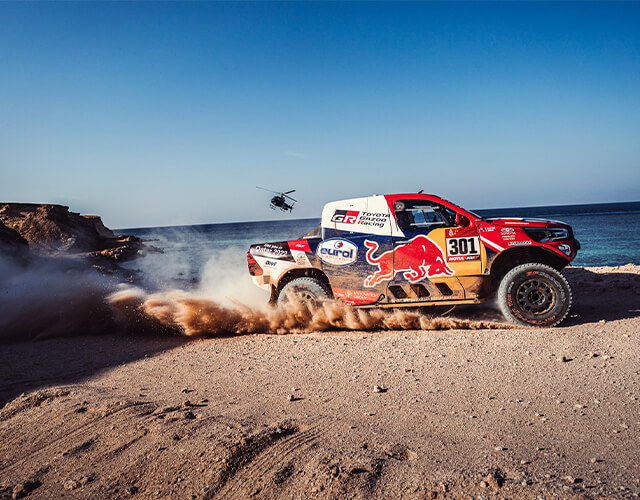 Vehículos ganadores del Rally Dakar 2021.