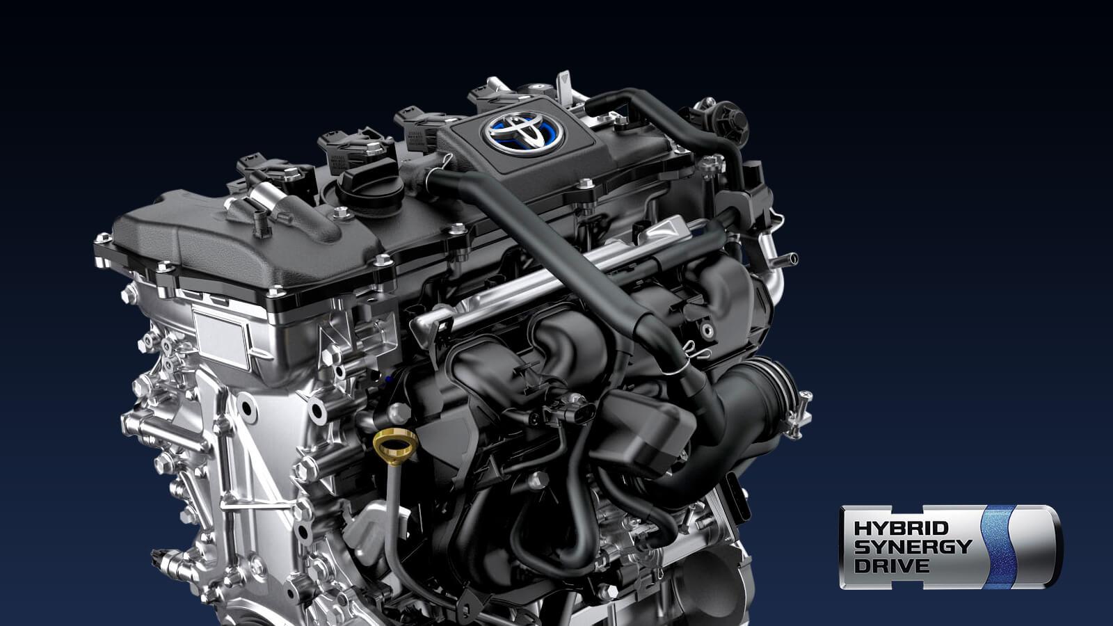 Toyota CHR especificaciones técnicas del motor híbrido de 1.8L