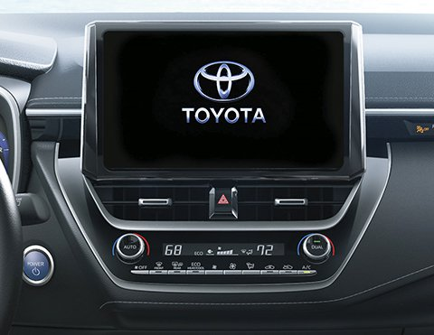 Audio de autos híbridos | Corolla Hatchback
