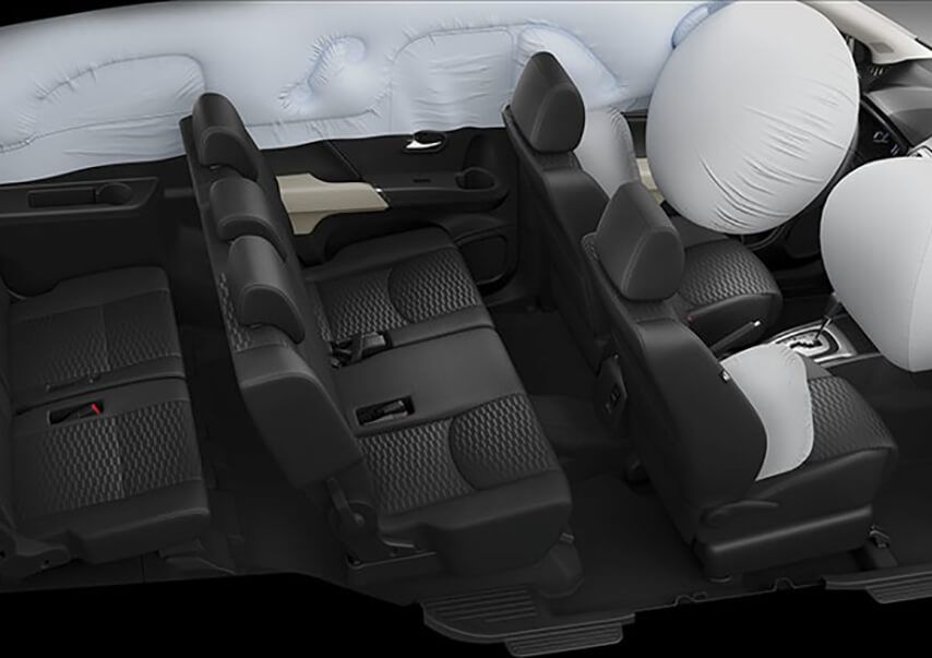 Airbag camioneta Toyota