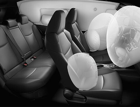 Airbags camioneta Corolla Cross | Seguridad Toyota