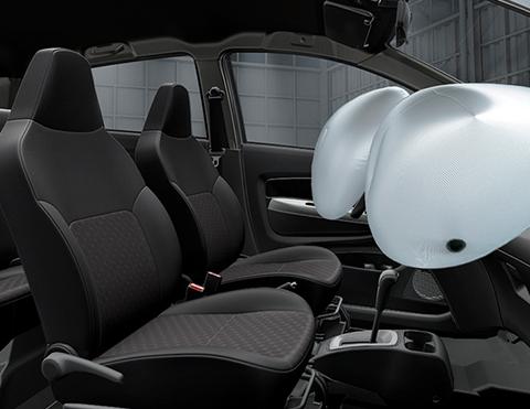 Airbags de mayor seguridad | Carros Toyota Agya 2021