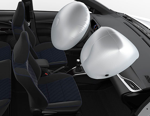 Airbags más seguros | Toyota Yaris Sedan 2021- 2022