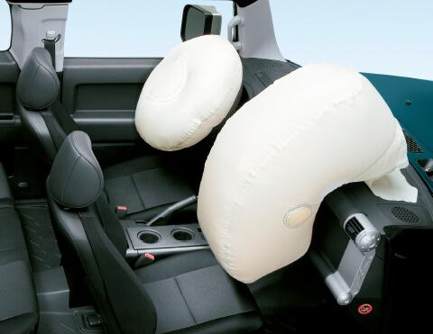 Airbags de máxima seguridad   FJ Cruiser