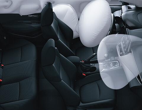 Airbags de máxima seguridad   Toyota Corolla