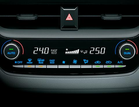 Aire acondicionado para autos híbridos