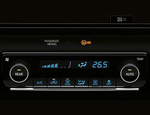 Aire acondicionado de las SUV Fortuner Toyota