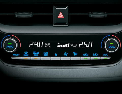 Aire acondicionado Toyota