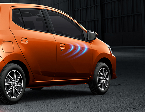 Carros con apertura remota de puertas | Toyota Agya