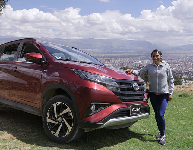 Aprende a correr con Gladys Tejeda embajadora de Toyota.