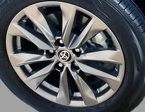 """Aros de aleación de 17"""" del Toyota Corolla Cross"""