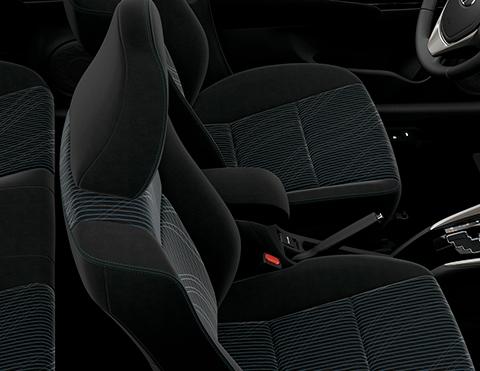 Asientos más cómodos en el nuevo sedan de Toyota