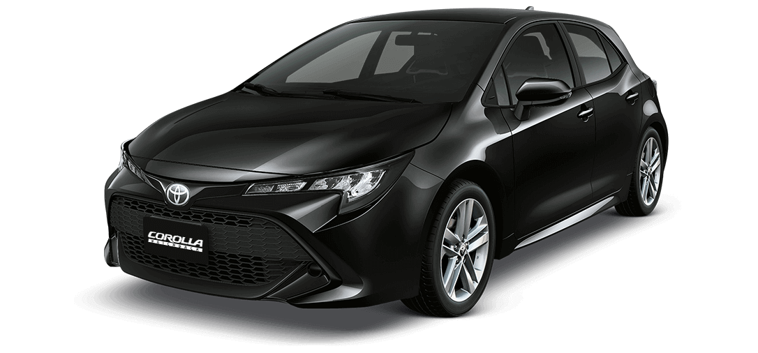 Auto Corolla negro Toyota