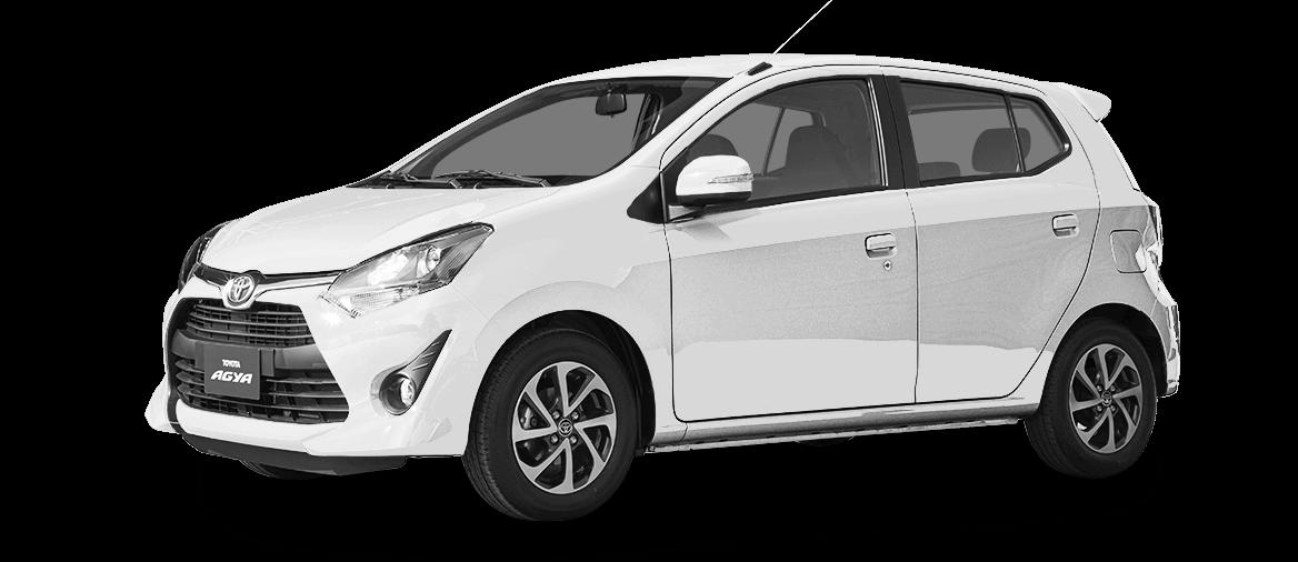 Auto Toyota Agya blanco
