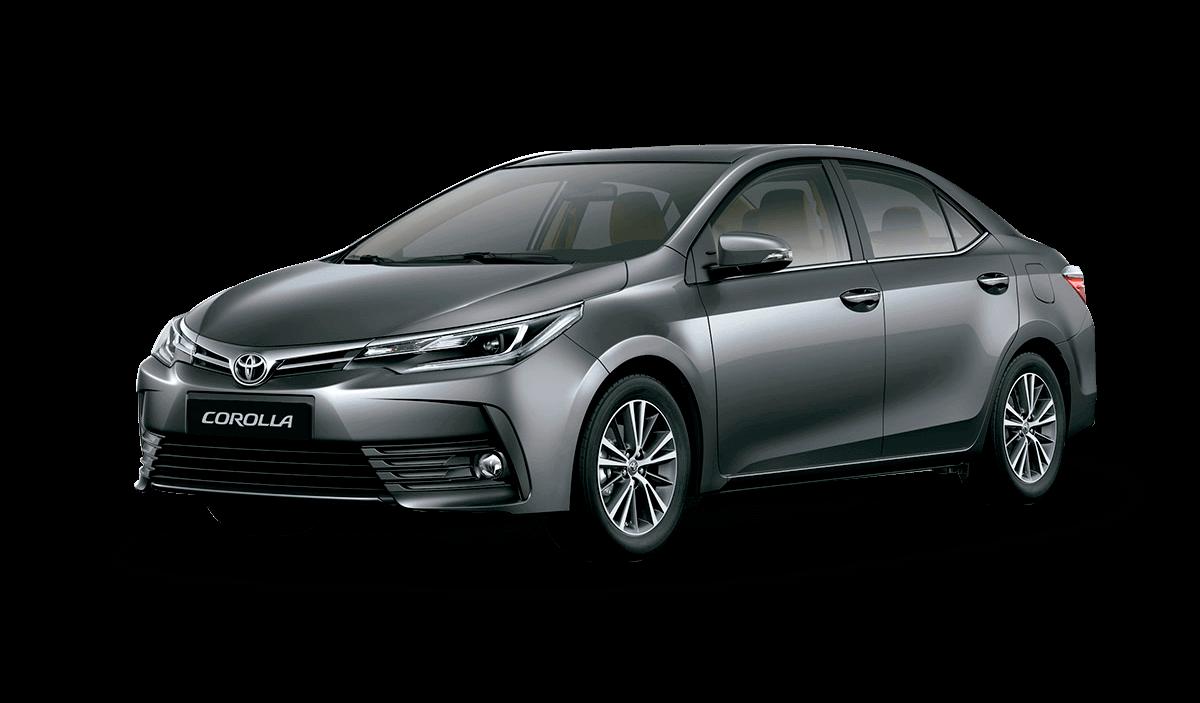 Auto Toyota Corolla gris
