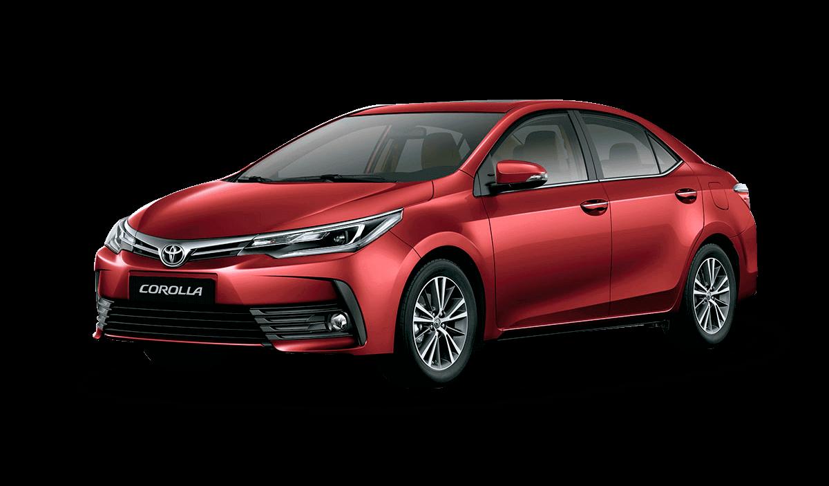 Auto Toyota Corolla Rojo mica