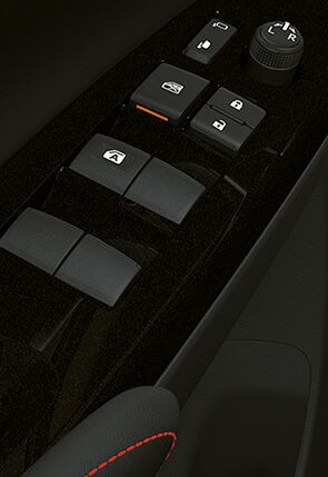 Botones de control ventanas auto Toyota