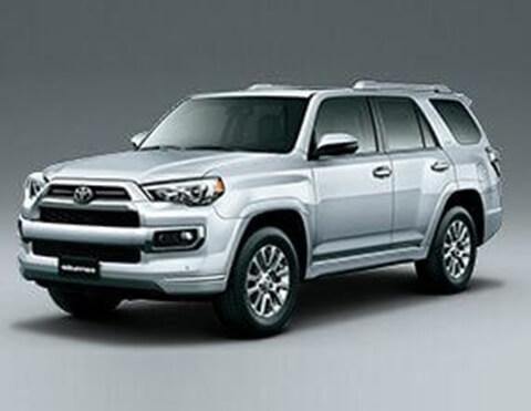 Camioneta blanca | Toyota 4Runner