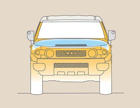 Camionetas con prevención de accidentes   FJ Cruiser