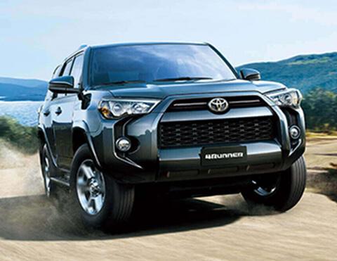 Camioneta negra | Toyota 4Runner