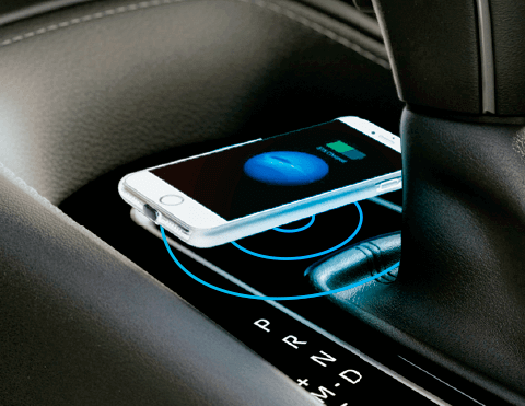 Cargador inalámbrico | Autos híbridos Toyota
