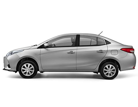 Carros aerodinámicos tipo sedan | Toyota Yaris