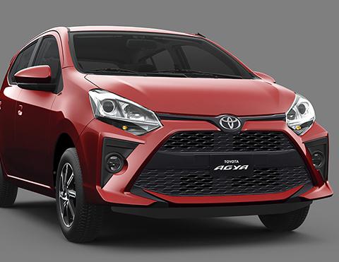 Nuevo diseño frontal | Toyota Agya