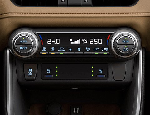 Climatizador dual Toyota Rav4