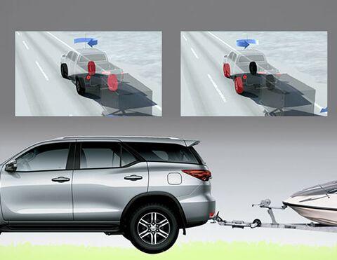 Firmeza de las camionetas Toyota Fortuner SUV