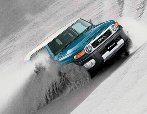 Control de trepado en camionetas   Toyota Perú