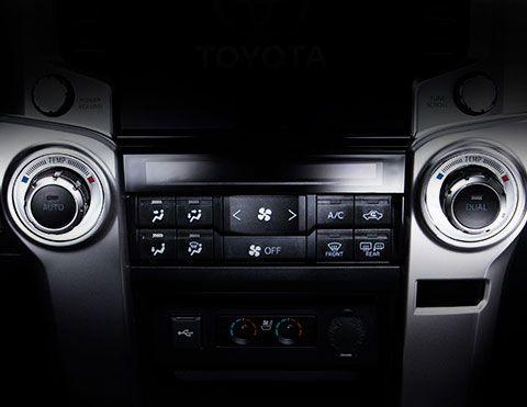 Controles aire acondicionado Toyota