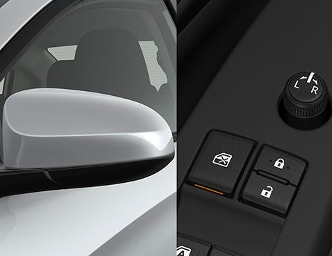 Controles eléctricos en puertas para mayor seguridad en autos