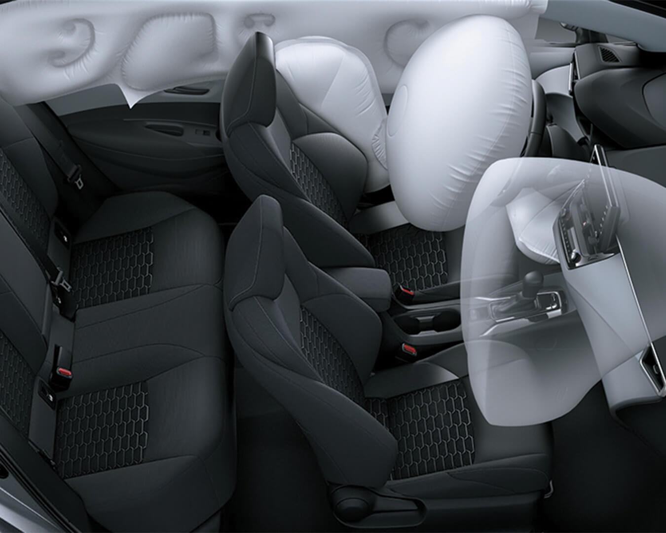Airbags de máxima seguridad | Corolla HB