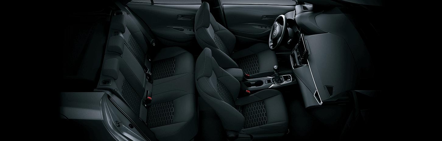 Diseño interior auto Toyota