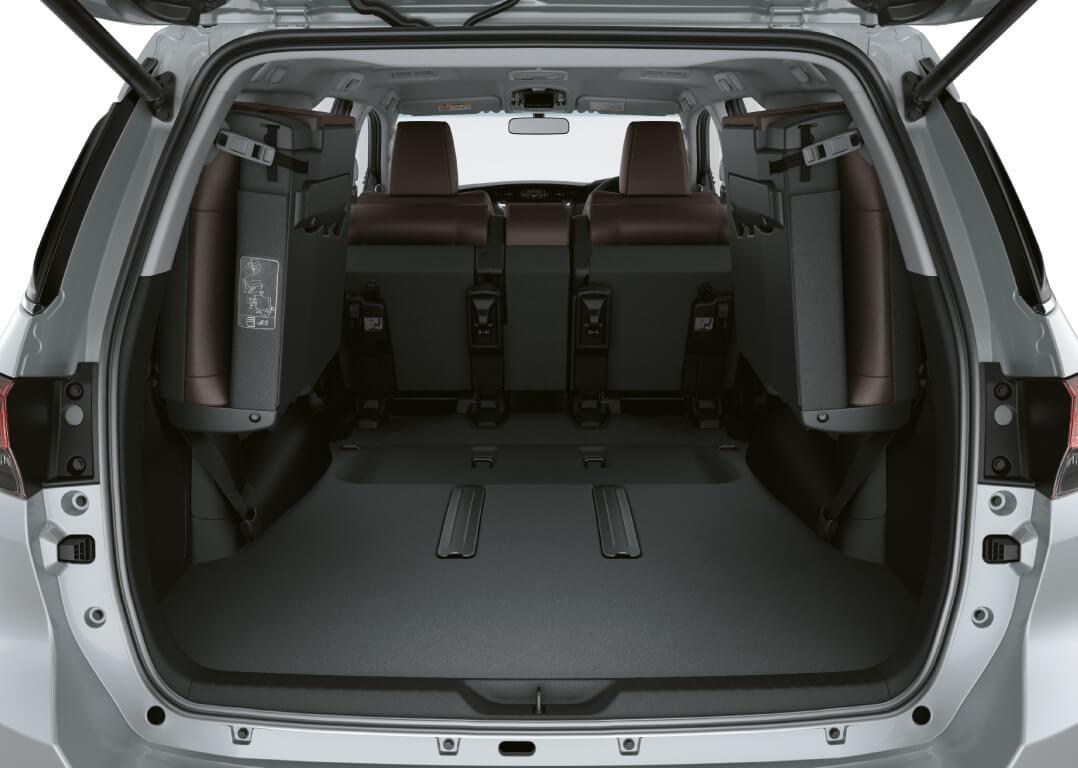 Espacio camionetas SUV Toyota Fortuner