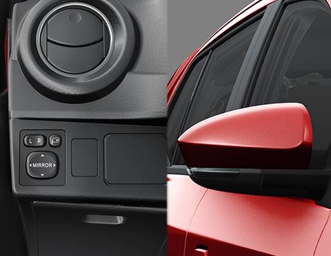 Espejos retrovisores | Toyota Agya