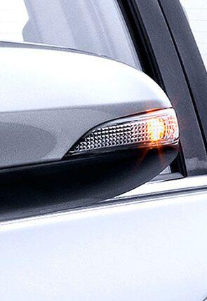 Faro LED en espejo Toyota
