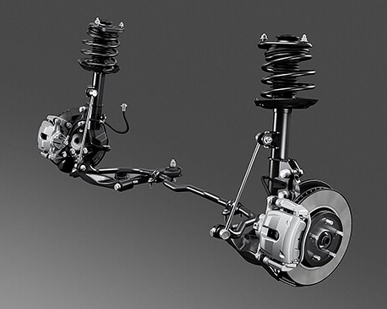 Suspensión de híbridos | Autos Toyota