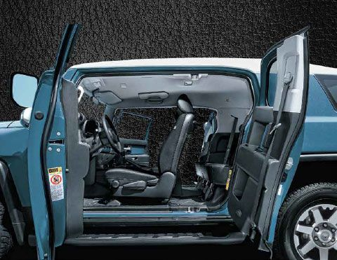 Interior camioneta FJ Cruiser Toyota