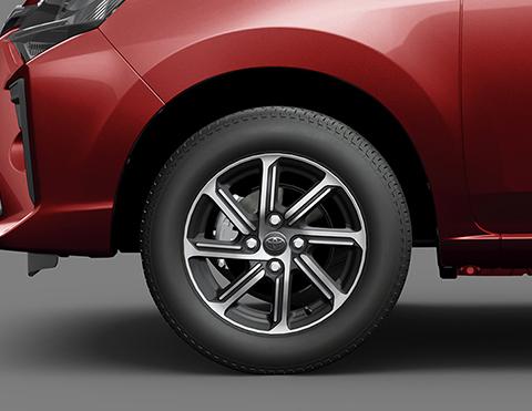 Llantas modernas | Carros Agya Toyota
