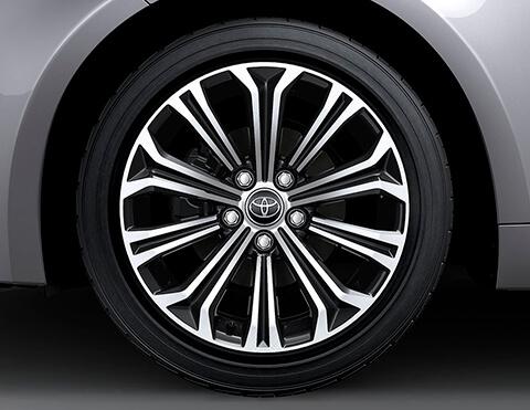 Llantas de lujo   Toyota Corolla