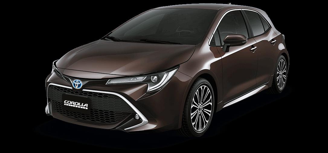 Auto Toyota Corolla café