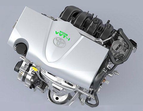 Motor Toyota Yaris