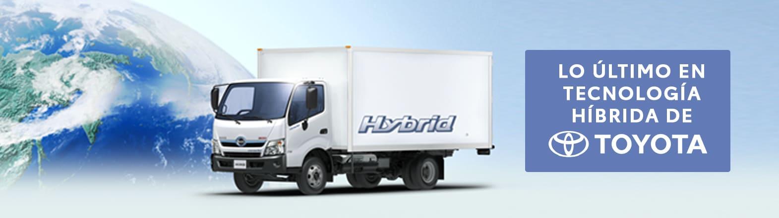 Nuevo Camión híbrido de Hino, ahorra más combustible