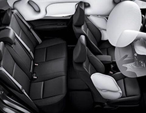 Nuevo Toyota Corolla airbags