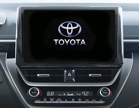 Pantalla táctil Toyota Corolla Hatchback