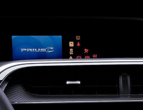 Pantalla Toyota Prius C
