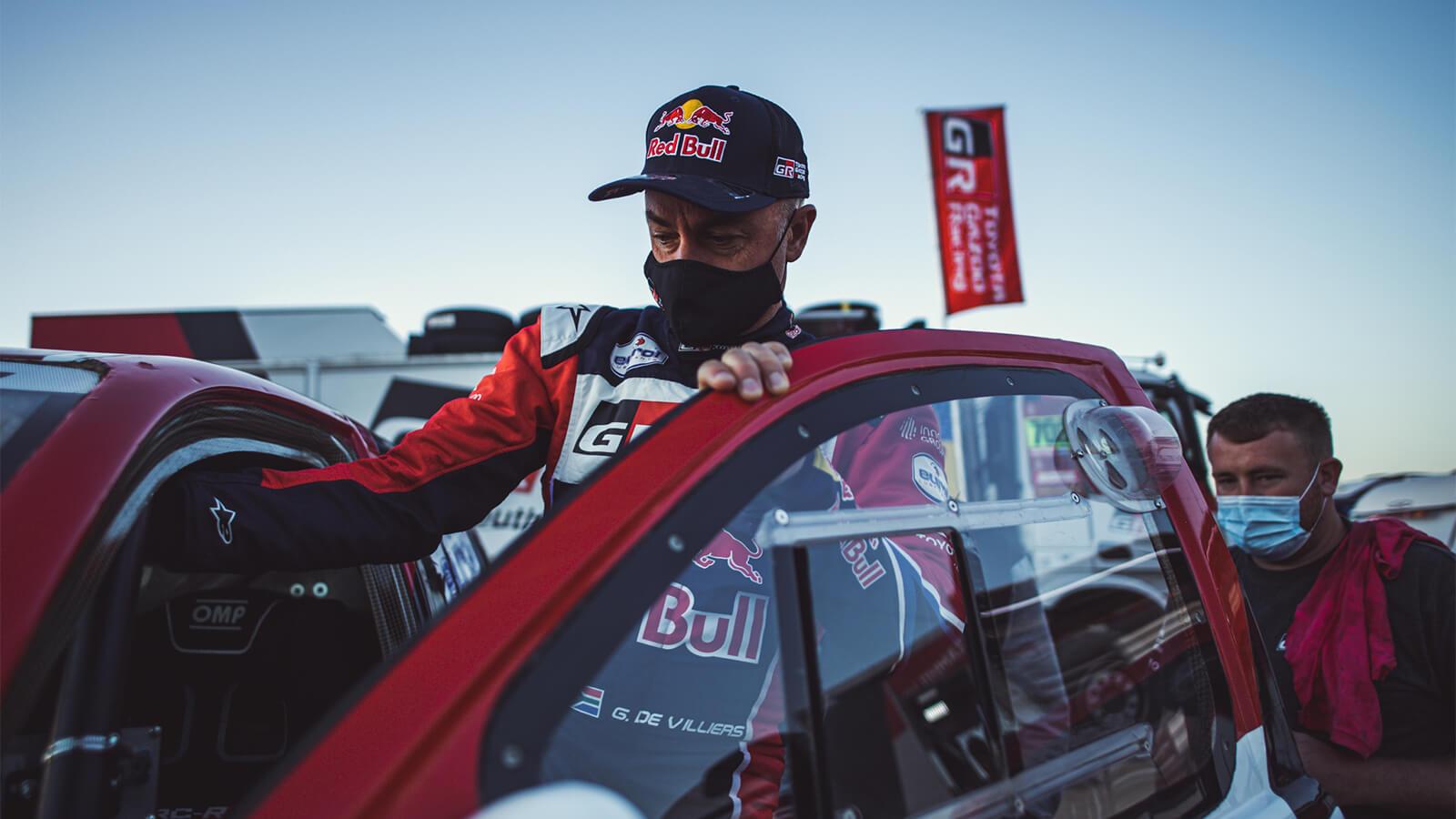 Giniel De Villiers en Rally Dakar 2021