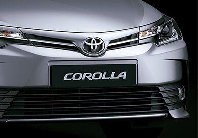 Posterior Automóvil Toyota Corolla