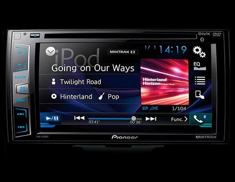 Radio pantalla táctil Toyota